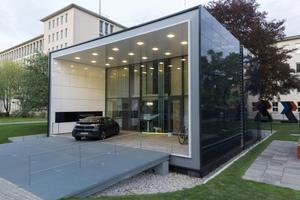 Das Plusenergiehauses mit Elektromobilität an der Fasanenstraße 87a in Berlin