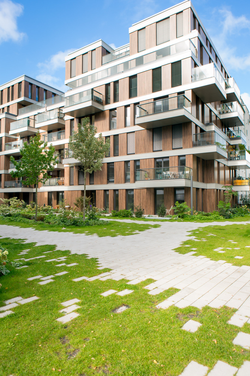 Die Vielfalt Der Wohnungen Ist Groß: Sie Reicht Vom Kleinen  33m2 Appartement Bis Zur