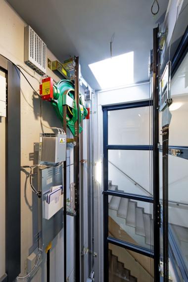 fahrstuhl im einfamilienhaus einbauen