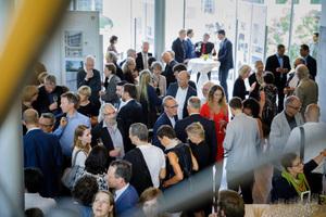 Die Preisverleihung fand in der Akademie der Künste am Pariser Platz in Berlin statt
