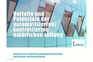 """Whitepaper """"Vorteile und Potenziale der automatisierten/kontrollierten natürlichen Lüftung"""""""