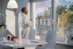 Das interaktive Fenster ermöglicht die Präsentation von Multimediainhalten