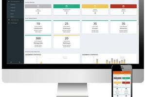 Mit der Smart Metering Plattform lässt sich die Zählerfernauslesung vom Büro aus steuern