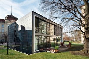 Das Gebäude ist mit moderner Gebäudetechnik ausgestattet<br />