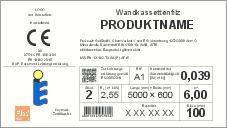 Abbildung 1: Musterbeispiel für freiwillige Zusatzangaben von Herstellern