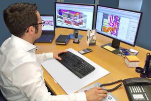 Prüfungen der Baupläne lassen sich durch das digitale Modell früher und schneller umsetzen