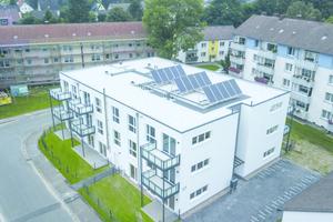Das Wohngebäude an der Imigstraße dient als Pilotprojekt im Stahlmodulbau und als Grundlage für weitere Wohnungsbauprojekte in dieser Bauweise