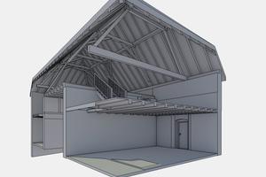 In Kooperation mit stereoraum Architekten aus Wörrstadt und einem Flexijet 3D können graf + partner bis zu 800 m² Fläche am Tag aufmessen