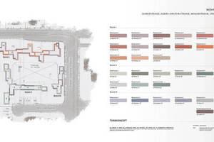 Im Entwurf wird deutlich, welchen Umfang die Wohnsiedlung und die damit verbundene Gestaltung hat<br />