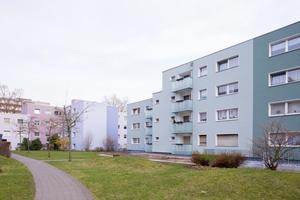 Dank einer Fassadendämmung konnte der Energiebedarf deutlich gesenkt werden