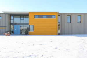 Bei der Kindertagesstätte in Hohentengen wurden wirtschaftliche, besonders für große Spannweiten geeignete Deckenelemente eingesetzt