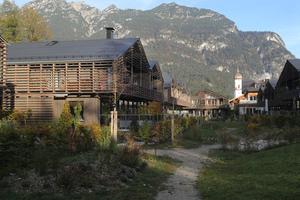 Das Krankenhausviertel in Garmisch-Partenkirchen verfolgt das Konzept eines lebendigen Quartiers durch gemeinschaftliches Mehrgenerationenwohnen