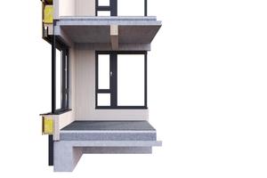 Vorgefertigte Bauteile reduzieren auch den Planungsaufwand von Anschlussdetails