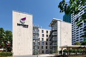 Beispiel für die innovative Herangehensweise an den Bauprozess: das Apartmentgebäude in Berlin
