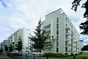 Zwei Baukörper bilden das Philox, das seit Juni 2016 im aufstrebenden Darmstädter Europaviertel genutzt wird