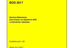 Titelseite BOS 2017