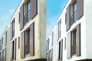 Konstruktive Details, Umwelteinflüsse und Materialwahl beeinflussen das Risiko für Algen- und Pilzbefall auf Fassaden