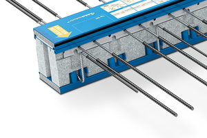 Der Schöck Isokorb ist als Zweikomponenten-System konzipiert, das bauphysikalische Funktionen (Wärmeschutz und Brandschutz) trennt