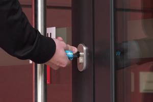 Griffige Schlüssel erleichtern das Handling
