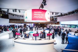 Kommunikativer Mittelpunkt des Kongress ist die Ausstellung. Sie ist Treffpunkt der Teilnehmer, Marktplatz für Innovationen und Wissensbörse in einem. Ein Ort, an dem man Antworten findet.