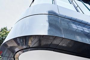 """Das Außendeckensystem mit der vliesarmierten """"Rigips Glasroc X"""" empfiehlt sich für geschützte Deckenbereiche ohne direkte Bewitterung"""