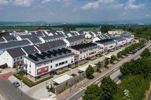 Das Energie-Plus-Projekt verfügt über ein Versorgungssystem, das ausschließlich regenerative Energiequellen nutzt <br />
