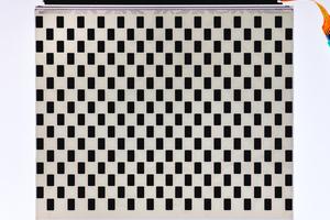 """... 50 % der Pixel im Zustand """"An"""" und 50 % der Pixel im Zustand """"Aus"""""""