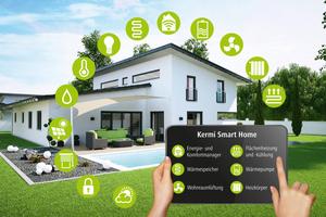 """""""Smart Home"""" von Kermi steht für Energieeffizienz, Raumklima, einfache, mobile Bedienung und flexible Erweiterungsmöglichkeiten<br />"""