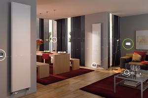 Für ein Zuhause mit echter Wohlfühlatmosphäre sorgt der Energie- und Komfortmanager, der die Temperatur punktgenau pro Raum reguliert<br />