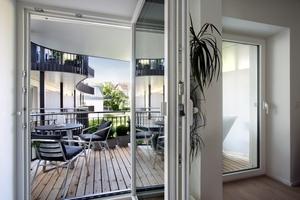 Das Holzfenster HF 82 Effizient bietet hohen Wärmeschutz (U<sub>W</sub> = bis 0,86 W/m²K) bei einem guten Preis-Leistungs-Verhältnis