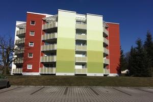Bild 1: Farbliche Umsetzung der durch die Eigentümergemeinschaft kreierten Gestaltungsidee