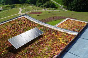 Gründächer und PV-Anlagen sind langfristige Nutzungen. Deshalb müssen Dachabdichtung und Wärmedämmung hochwertig sein