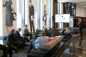 Die Vorträge führten die Teilnehmer an verschiedenste Stellen im Nordport Plaza Hotel