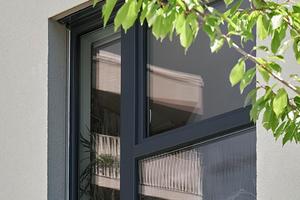 Die Fenster sind wichtiger Bestandteil des Passivhauskonzepts