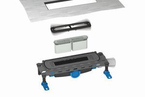 Das DallFlex-System verbindet durch die einclipsbare, ringsum durchweg mehr als 100 mm breite Dichtmanschette Verarbeitungssicherheit mit der eindeutigen Trennung der Gewerke