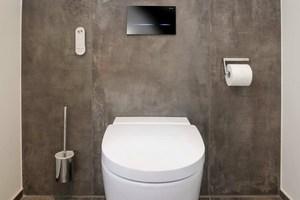 Das Dusch-WC ist mit zahlreichen Komfortfunktionen ausgestattet