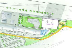 """Das Neubauprojekt der HOWOGE mit dem Namen """"Q 218"""" wird auf einem 4.600 m² großen Grundstück realisiert"""