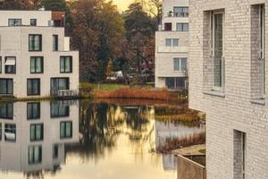 Das luxuriöse Wohnquartier Fünf Morgen Dahlem Urban Village wurde im Jahr 2017 fertiggestellt. <br />