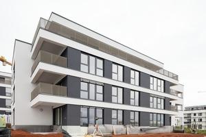 Die Wohnanlage Schnallenäcker bietet auf 4600 m² Wohnungen von zwei bis fünf Zimmern