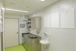 """Konzept des Allgemeinen Krankenhaus Celle: die Trinkwasserinstallation in sanitärtechnischen """"Funktionseinheiten"""" zerlegen und durch realistische Gleichzeitigkeiten """"schlanker"""" auslegen [7]"""