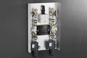 Hält auch auf der Apassionata World den Wasserwechsel aufrecht: eine Spülstation von Viega