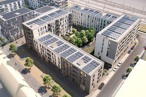 Im Esslinger Quartier Lok.West wird ein zukunftsweisendes Mieterstromkonzept realisiert