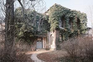 forum thomanum: das denkmalgeschützte Hortgebäude vor der Sanierung