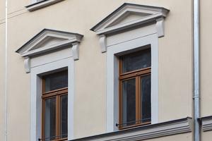 Nach der Sanierung kann das Gebäude aufgrund des energetischen Gesamtkonzeptes als KfW-Effizienzhaus Denkmal eingestuft werden