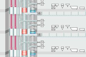 """Bild 3: Gegenwart: """"All in one"""" – Schacht als Modell für eine Thermalanalyse nach FEM"""