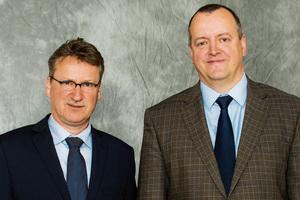 Torsten Klimke (links) und Torsten Eckel von der Wohnungsbaugenossenschaft Solidarität eG