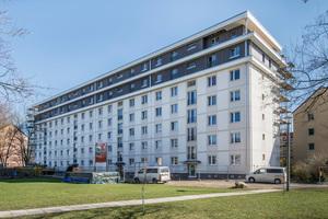 Die Wohnungsgenossenschaft Johannstadt (WGJ) stockte vier Siedlungshäuser um zwei zusätzliche Etagen in Holzbauweise auf