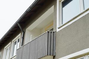 Bei den Balkonen gilt es, den vorhandenen Raum optimal zu nutzen