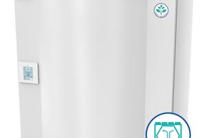 """<irspacing style=""""letter-spacing: -0.01em;"""">Rechts: Das Lüftungsgerät SAVE VTC 300 ist mit einem Gegenstromwärmeübertrager ausgestattet. Der Hersteller empfiehlt das Gerät jedoch nur in den Regionen Europas einzusetzen, wo die Außentemperatur kaum unter -5 °C fällt. Andernfalls ist der Energieverbrauch zu hoch. </irspacing>"""