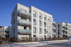 Durch das Neubauprojekt konnte die Anzahl der Wohnungen verdoppelt werden – <br />38 neue Einheiten sind so entstanden